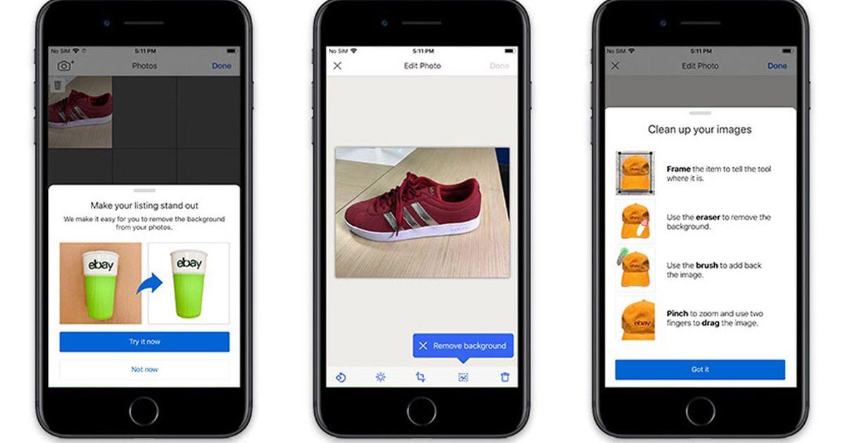 Image Clean-Up : eBay utilise la vision par ordinateur pour rendre vos images plus attrayantes