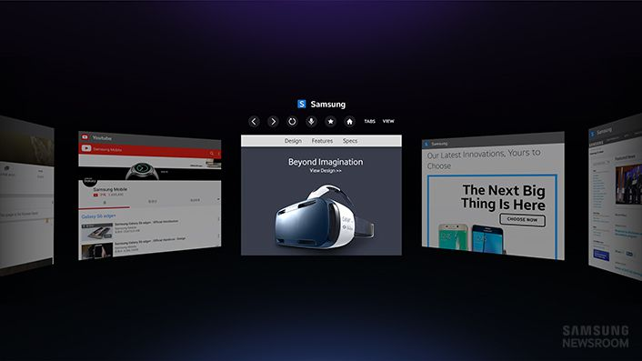 samsung Internet for Gear VR