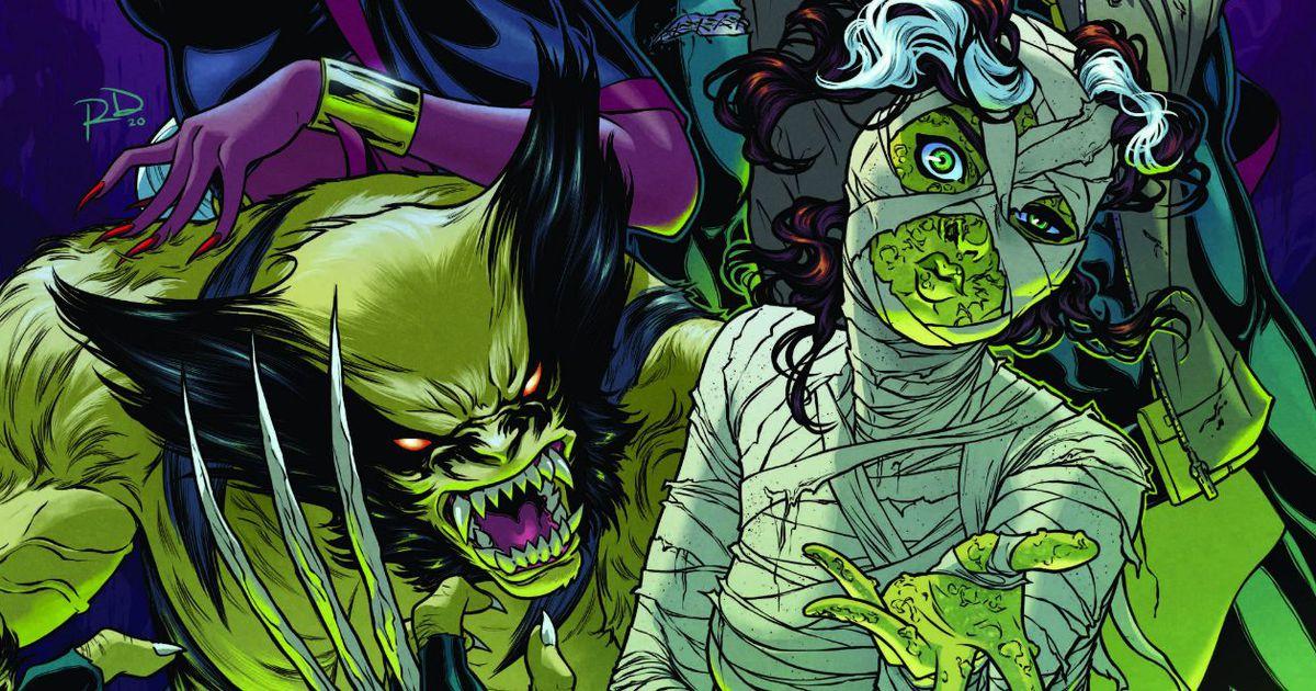 Marvel rend hommage à ses classiques de l'horreur en couvertures
