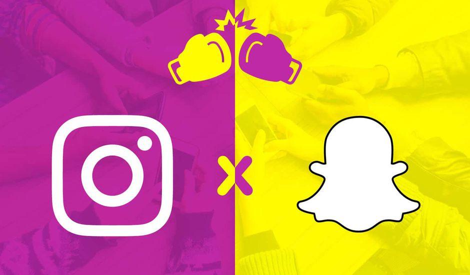 Snapcht vs Instagram
