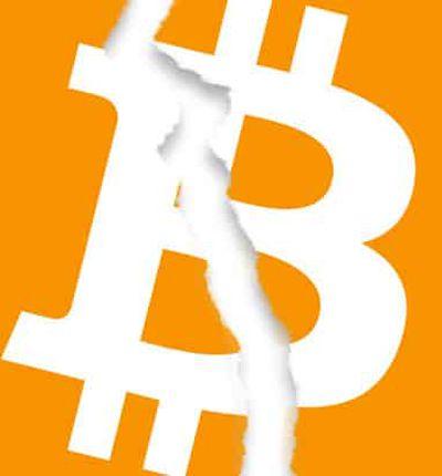 bitcoin déchiré
