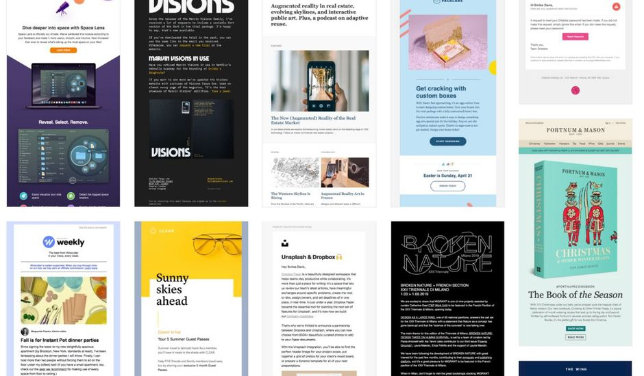templates exemple email HTML