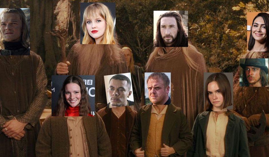 le seigneur des anneaux serie amazon prime casting officiel revele