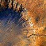 Cliché de Sirenum Fossae sur Mars