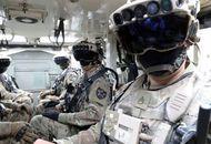 Aperçu de militaires équipés de casques de réalité mixte.