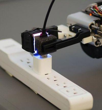 GelSight permet de donner à un robot la sensation du toucher