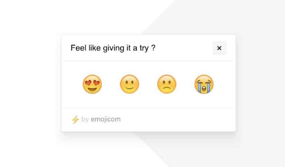 les emojis sont un bon moyen de récolter de l'information sur votre audiences ou vos clients