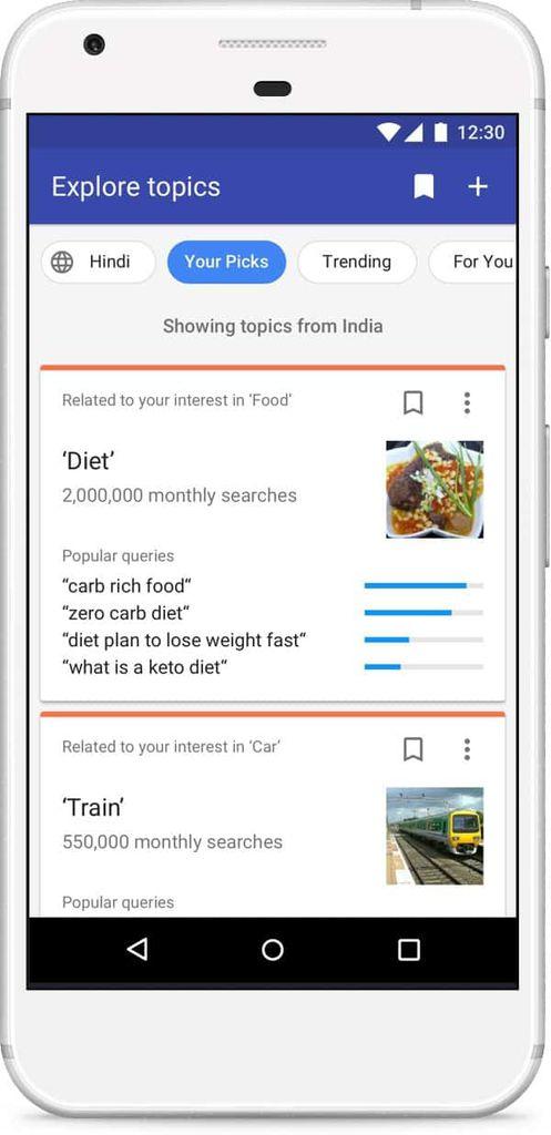 Google lance une application dédiée aux blogueurs Indiens