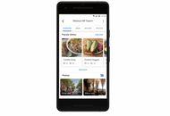 aperçu des plats populaires sur Google Maps