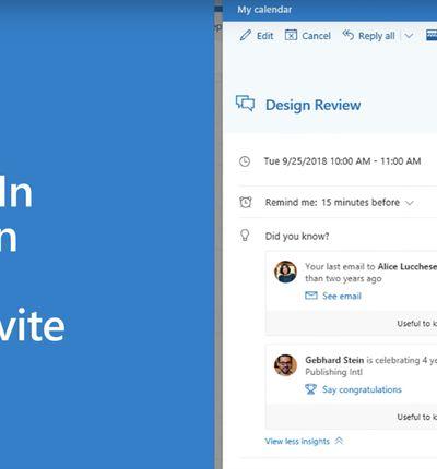 Office 365 : de nouvelles intégrations avec LinkedIn et Bing