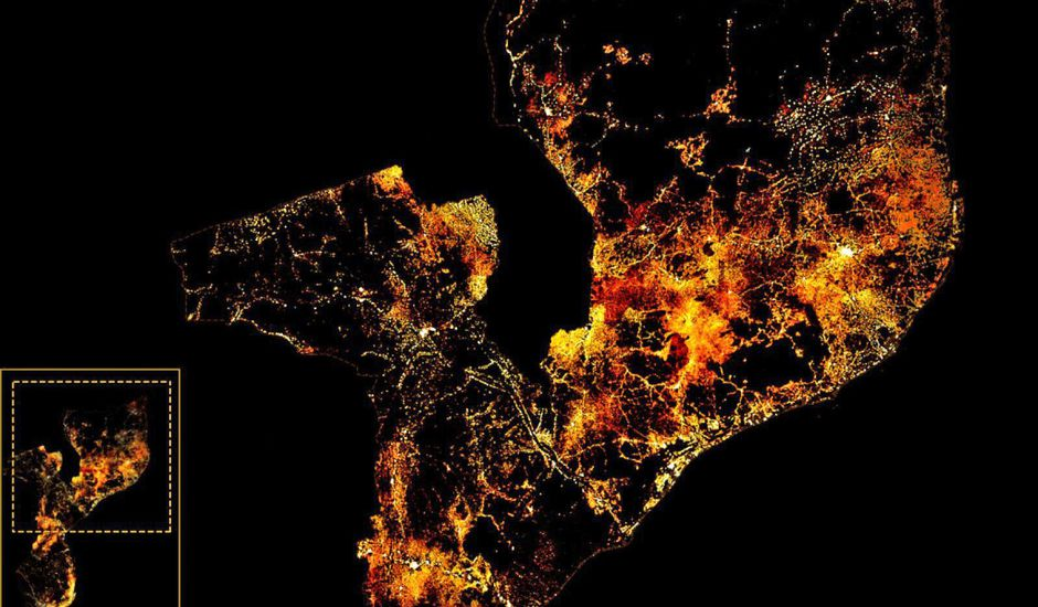 Des cartes démographiques sont créées par Facebook.