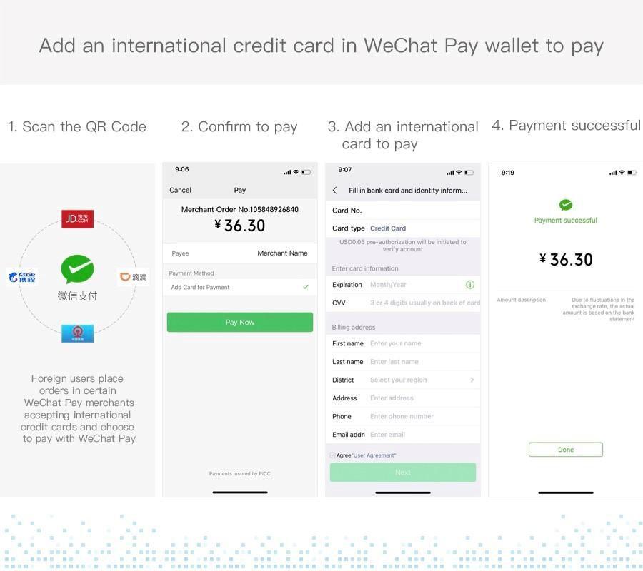 WeChat ouvre sa plateforme aux touristes en Chine.