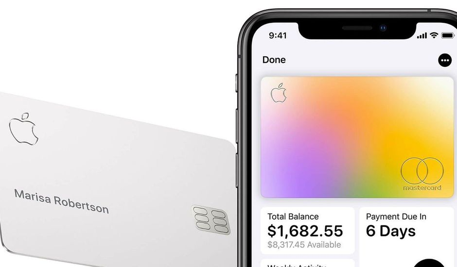 aperçu de l'Apple Card