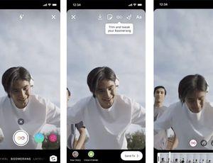 Les nouveaux effets sur les boomerangs d'Instagram