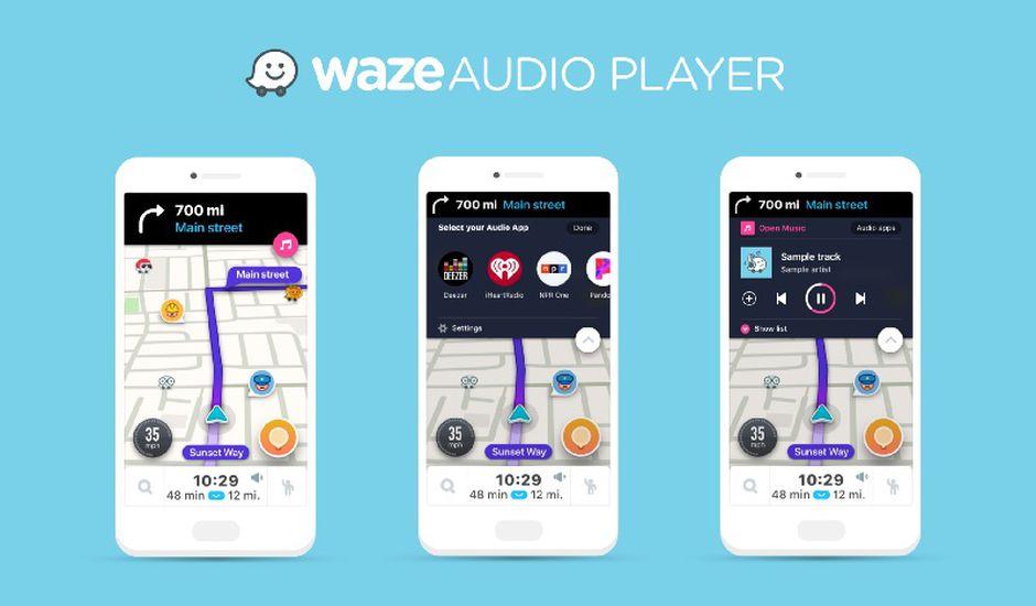 Waze annonce l'intégration de sept services de l'industrie musicale