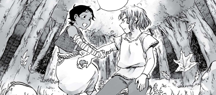 Zêd et Ayten dans Wandering Souls par Zelihan