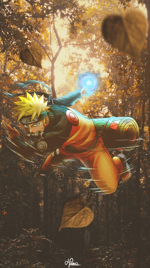 Des fonds d'écran mobiles ultra-réalistes de Naruto