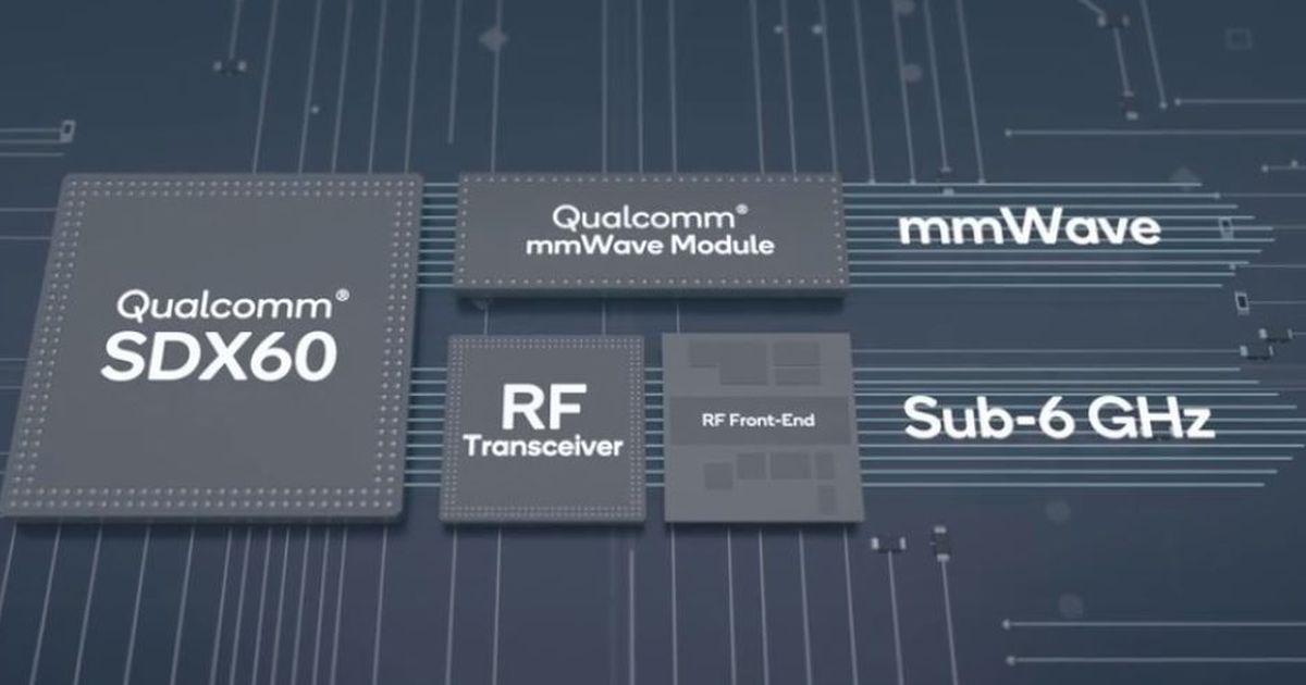 Qualcomm annonce le Snapdragon X60, déjà son troisième modem 5G