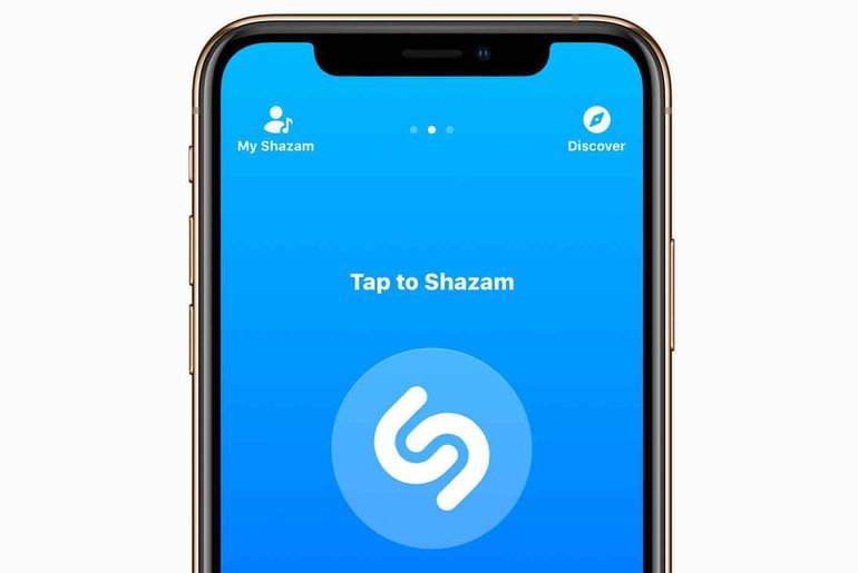 shazam pop up Android