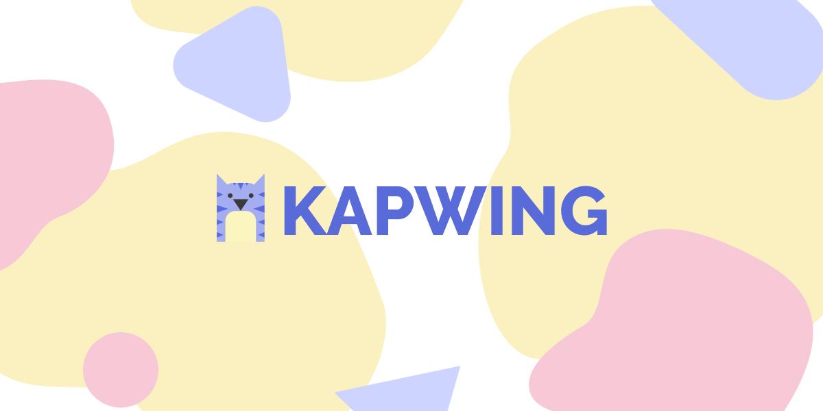 Kapwing : une plateforme gratuite pour éditer vos vidéos et photos en quelques instants !
