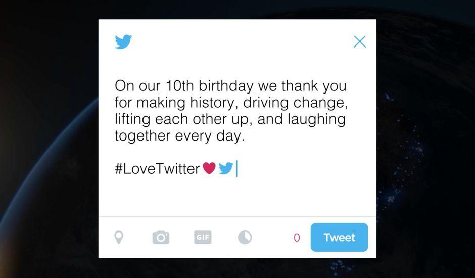 10 ans twitter lovetwitter