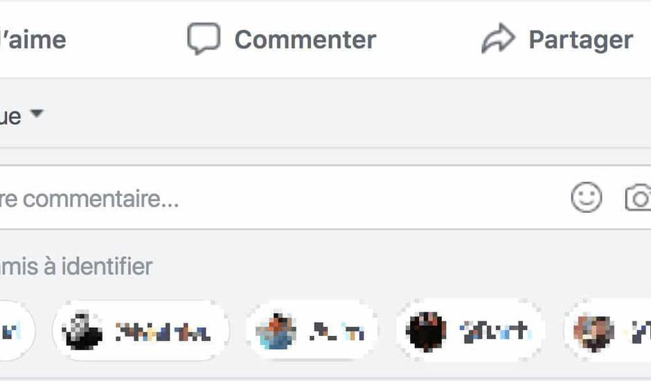 Tag amis commentaires facebook