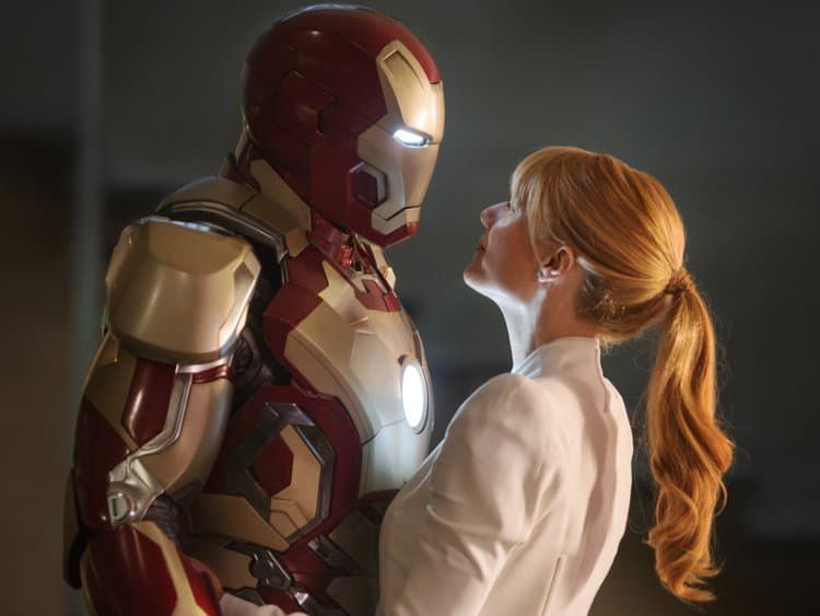 Pepper Potts et Iron Man