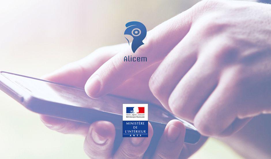 Logo d'Alicem