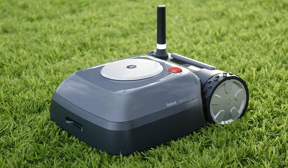 Terra le robot tondeuse d'iRobot
