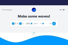 Get waves outil vague svg