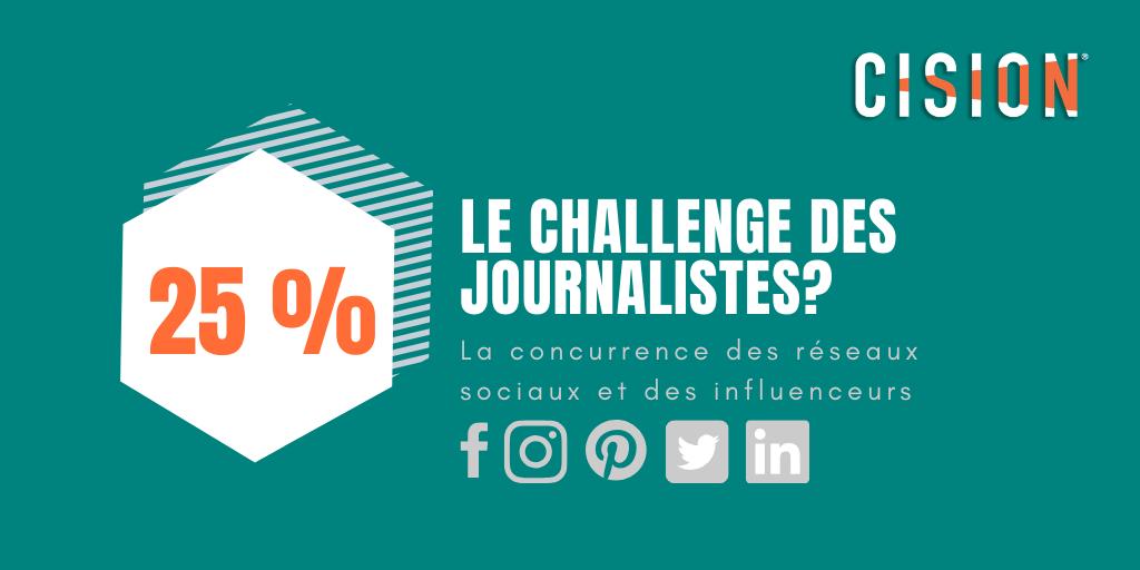 quel est le principal challenge des journalistes ?