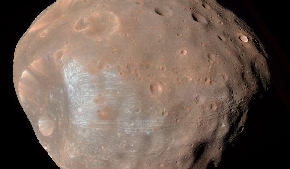 La France, le Japon, et l'Allemagne s'associent pour visiter une lune de Mars