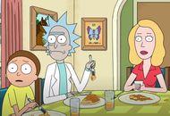 Morty, Rick et Beth dans la saison 4 de Rick et Morty