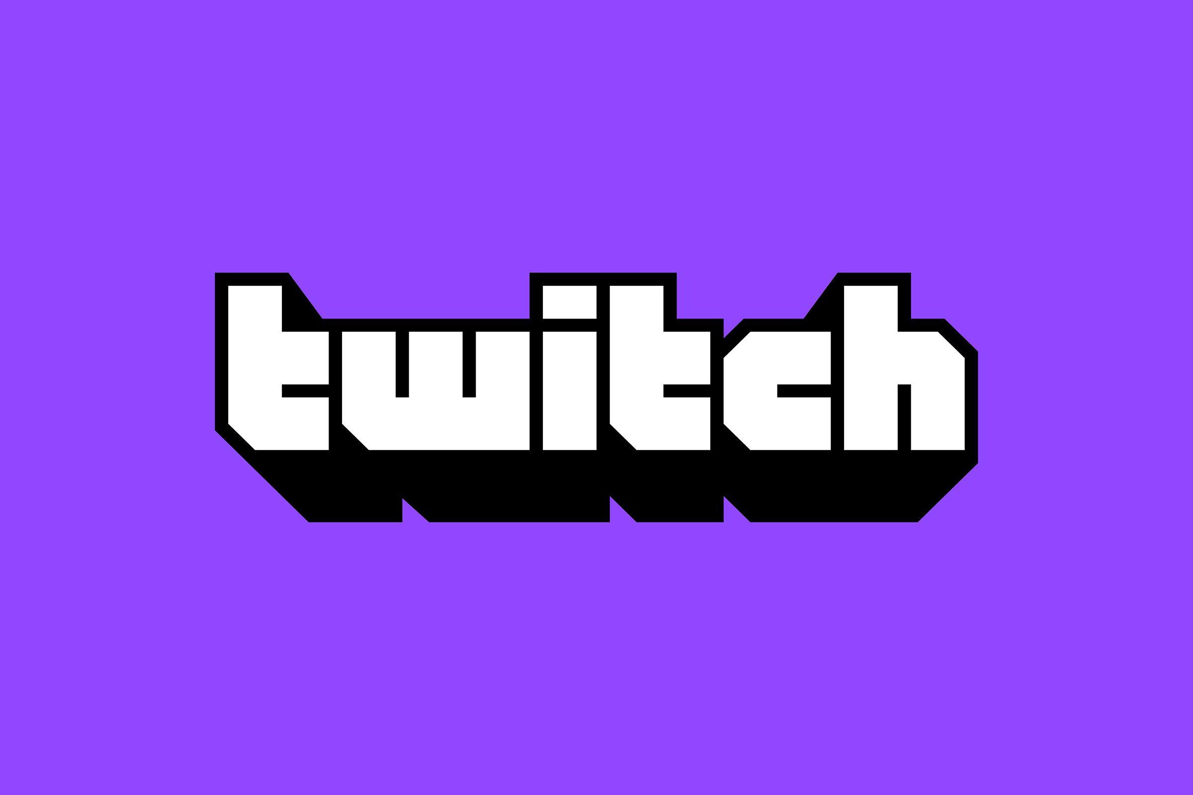 Le nouveau logo de la plateforme de streaming Twitch