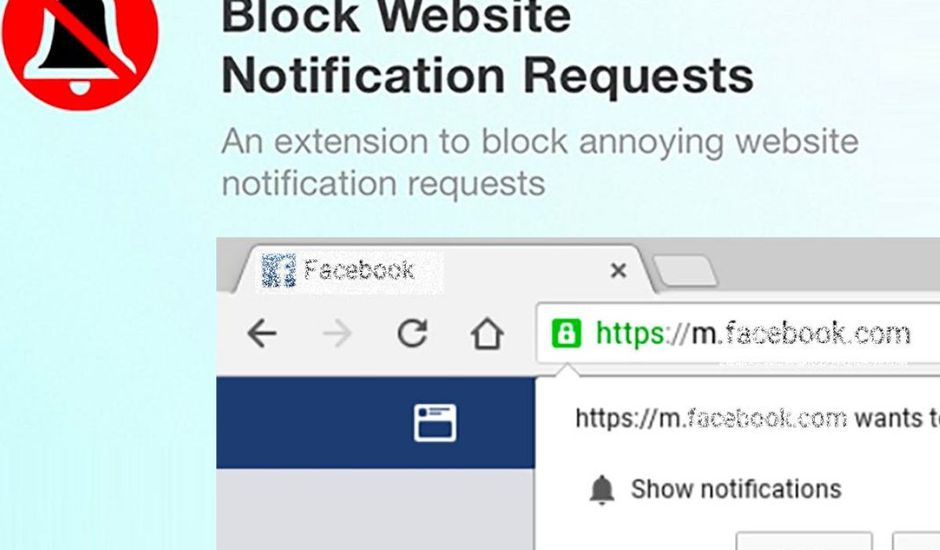 comment bloquer notification push