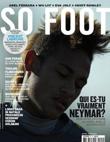 Couverture du magazine de football So Foot