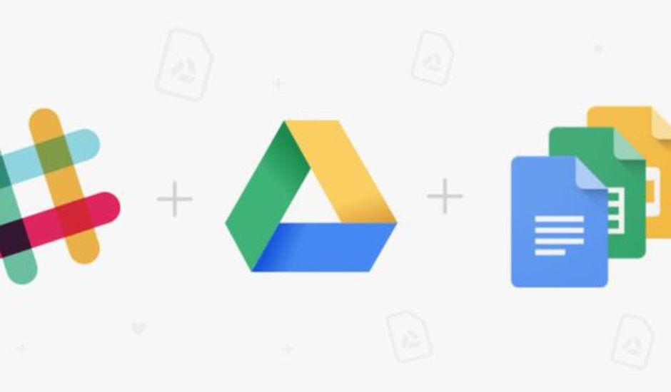 Slack google drive