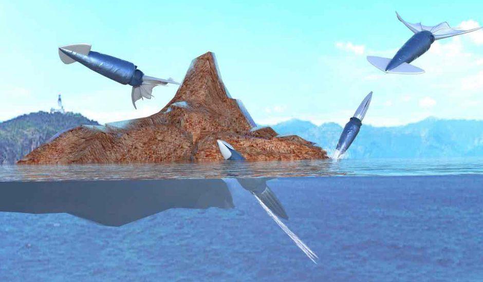 Des robots copient le comportement des calamars.