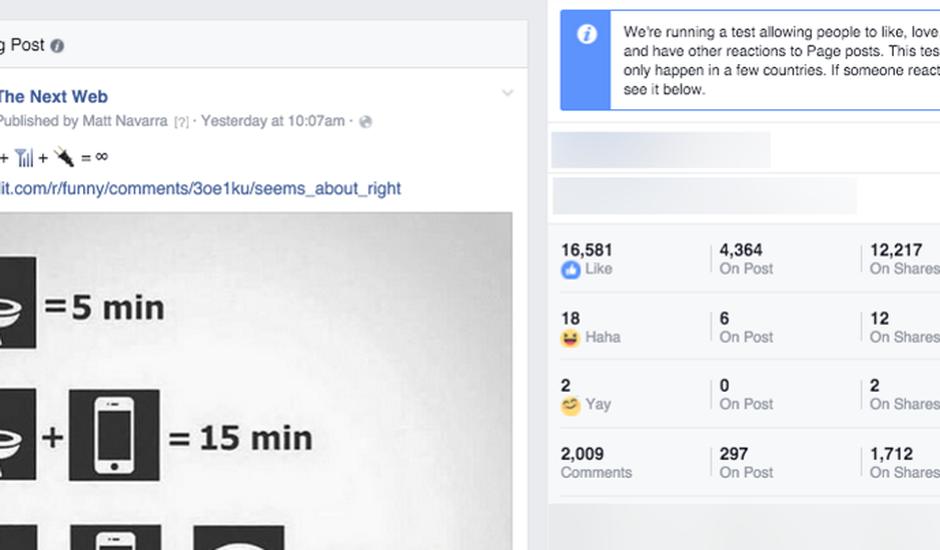 pages facebook emoji