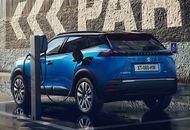 Aperçu d'un véhicule électrique Peugeot.