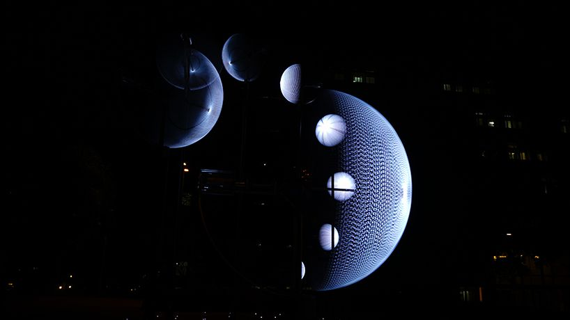 Suivant la position du spectateur, l'image de la Lune est différent.