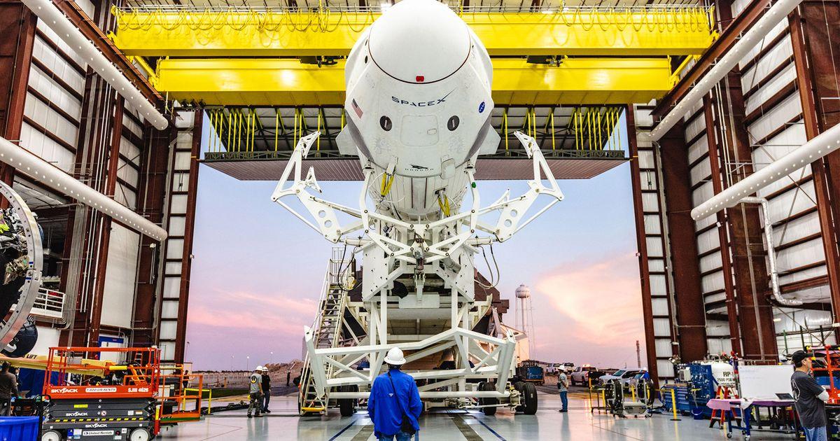 Covid-19 : la NASA et SpaceX ne prévoit pas de reprogrammer leur vol historique
