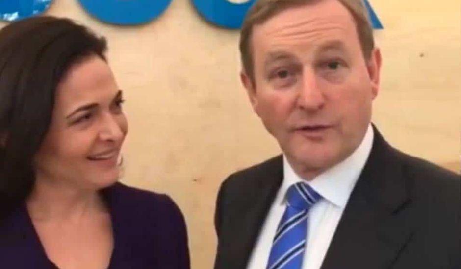 Facebook lobby irlande