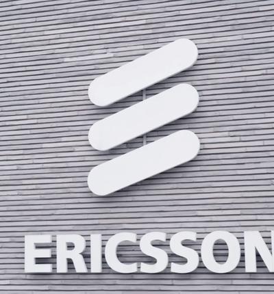 Logo de l'entreprise Ericsson.