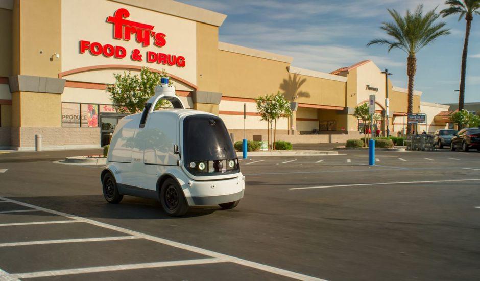 R1 est la voiture de livraison autonome innovée par Nuro