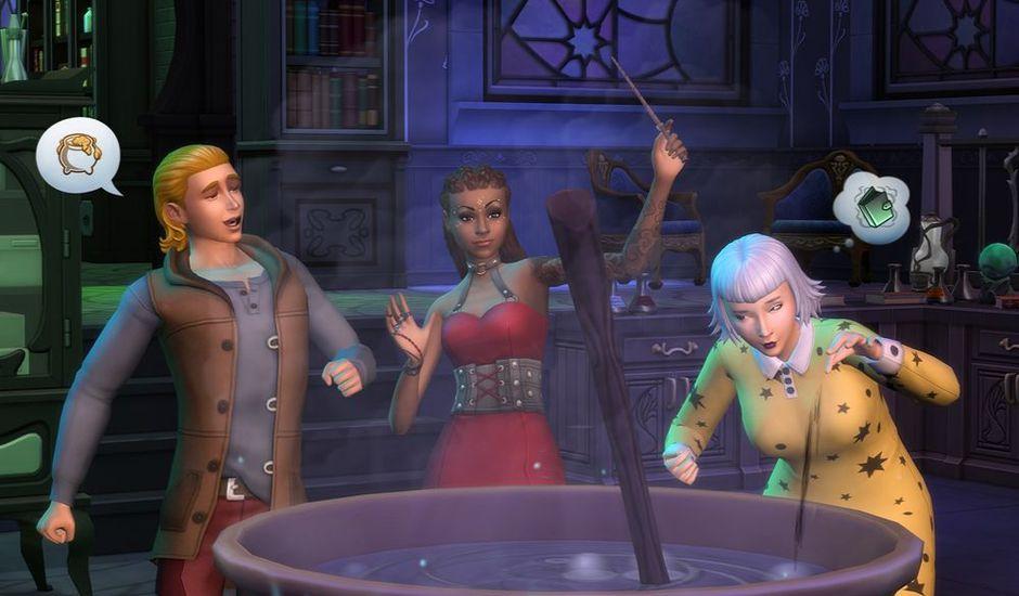 sims 4 monde magique extension comiga