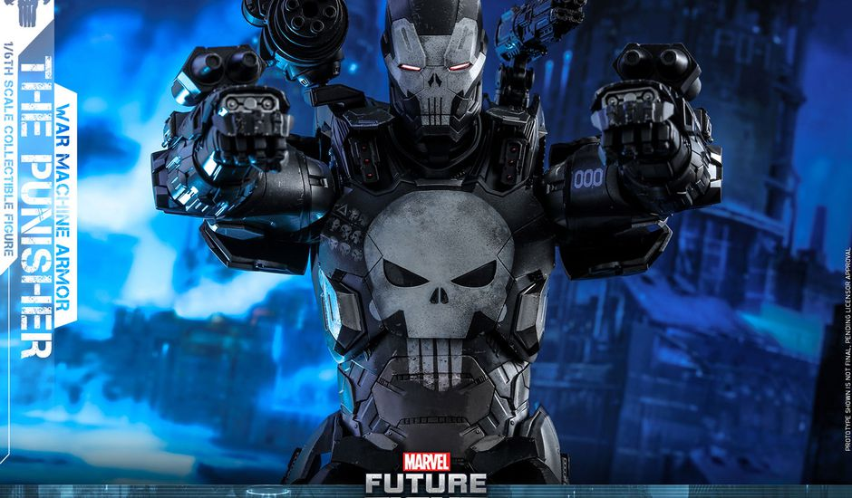 Le nouveau casque Iron Punisher de Marvel et Hasbro