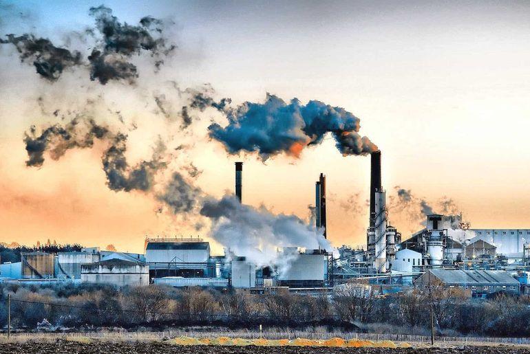 Pollution air pollué en hydrogène