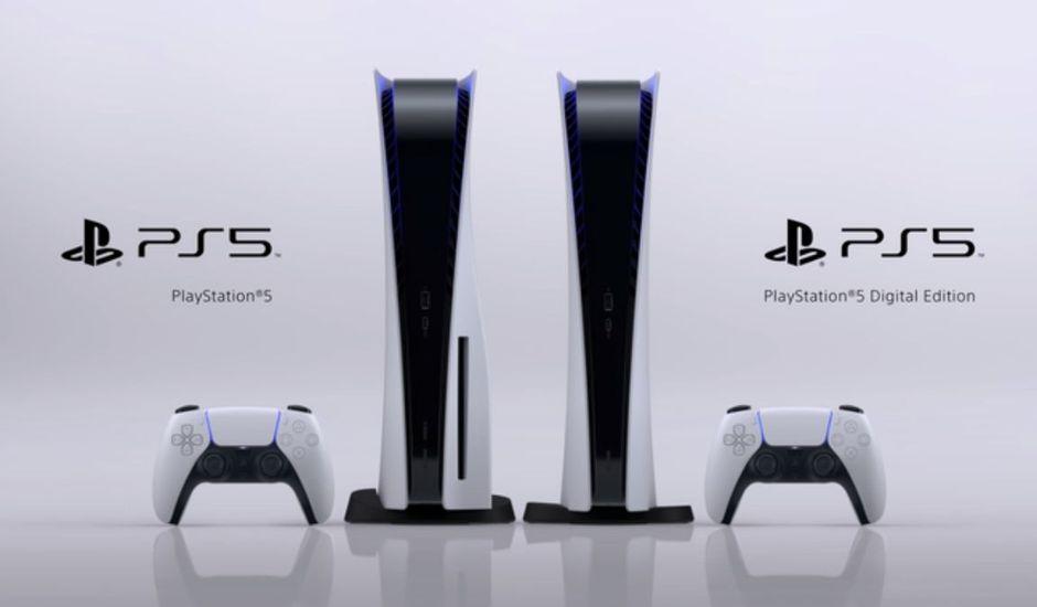 Les deux versions de la PlayStation 5