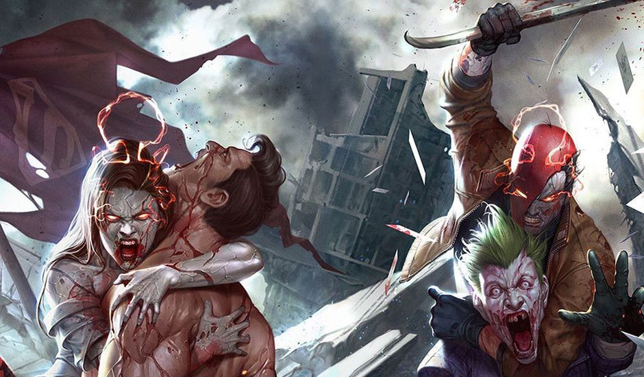 Nouvelle cover du comics DCeased